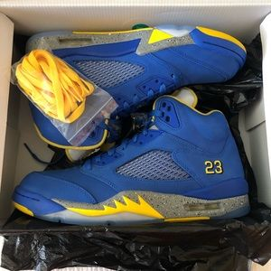 Air Jordan Retro 5 Laney Men's 9.5